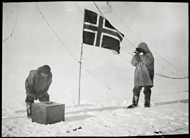 south pole photo