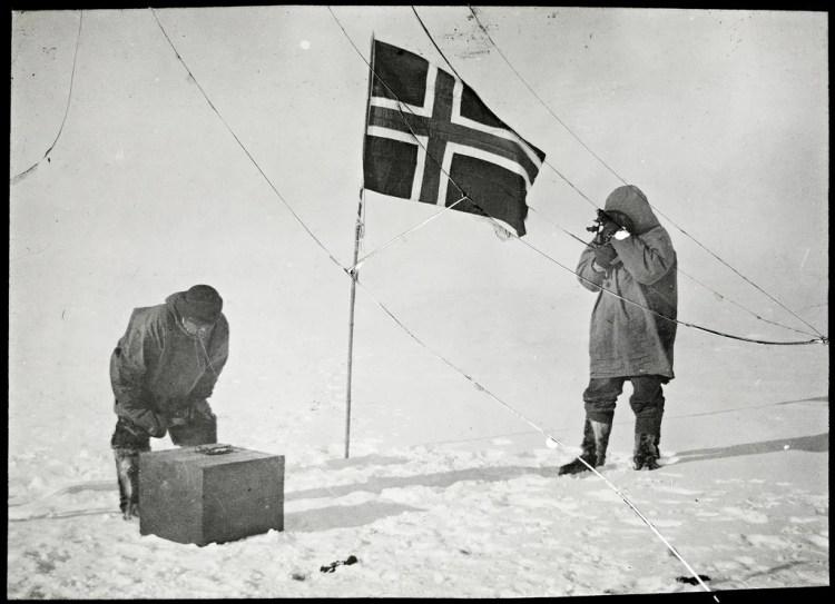 south pole photo