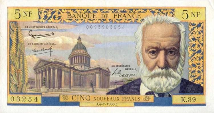 Francs 5