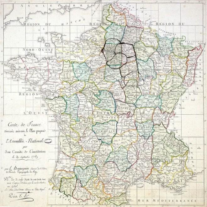 départements 1789 france