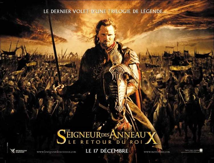 le film le seigneur des anneaux le retour du roi a obtenu 11 oscars le 29 février