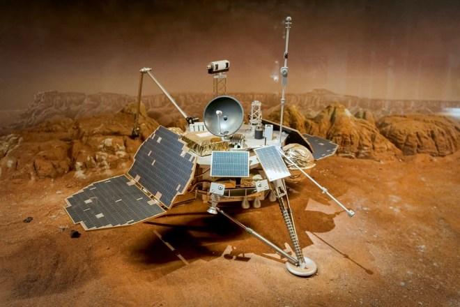 mars polar lander photo