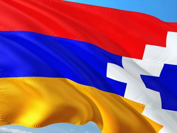 Haut-Karabagh drapeau photo