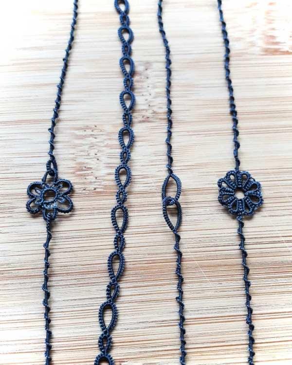 Bracelets en dentelle