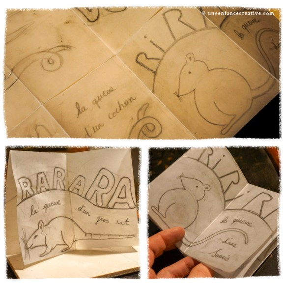 Créer un livre en gravure sur bois - dessin