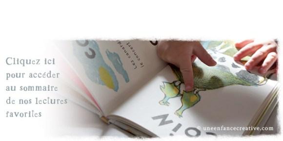 Sommaire de nos livres préférés