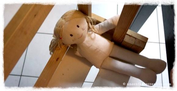 Activité couture - poupée de chiffon - poupée