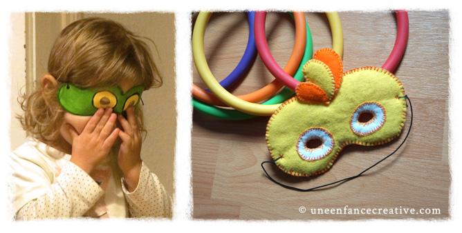 Créer des masques pour carnaval