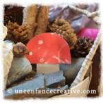 Décoration d'automne : des amanites tue-mouches
