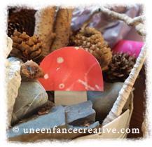 Décoration champignons d'automne