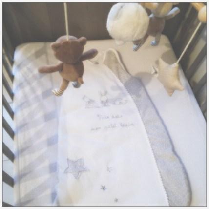 Lit 9ème mois grossesse - Unefille3point0