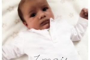 bébé 1 mois - Unefille 3point0