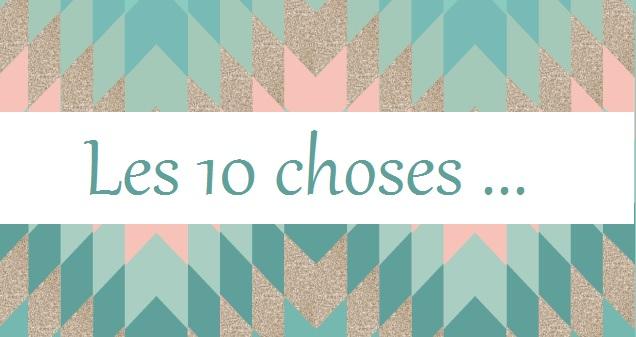 les 10 choses bébé grossesse - Unefille3point0