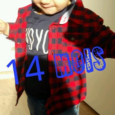 14 mois bébé