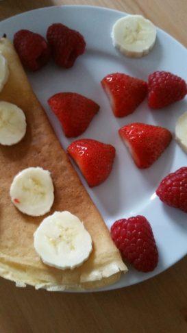 recette crêpes légères