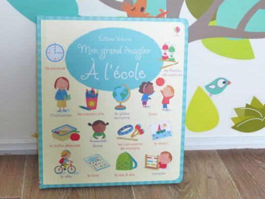 Imagier Ecole usborne - blog maman