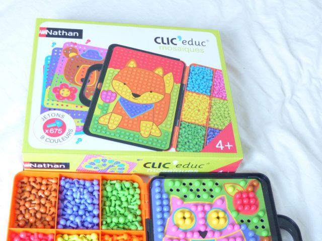 Clic Educ jeu enfant 4 ans NATHAN
