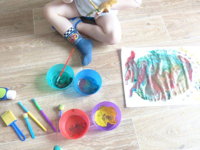dysensoriels : la peinture