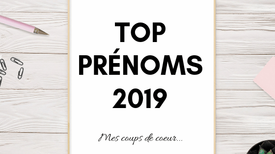 top prénoms