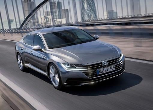 Volkswagen Arteon dynamique avant gris