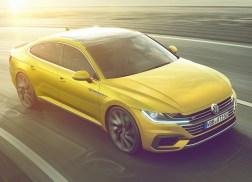 Volkswagen Arteon dynamique avant r-line jaune 3