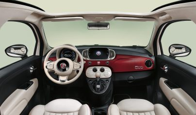 Intérieur Fiat 500 60ème anniversaire