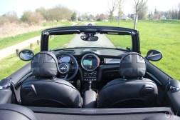 Mini John Cooper Works Cabrio intérieur