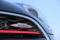 Mini John Cooper Works Cabrio logo calandre avant