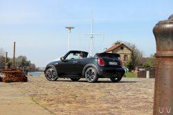 Mini John Cooper Works Cabrio arrière