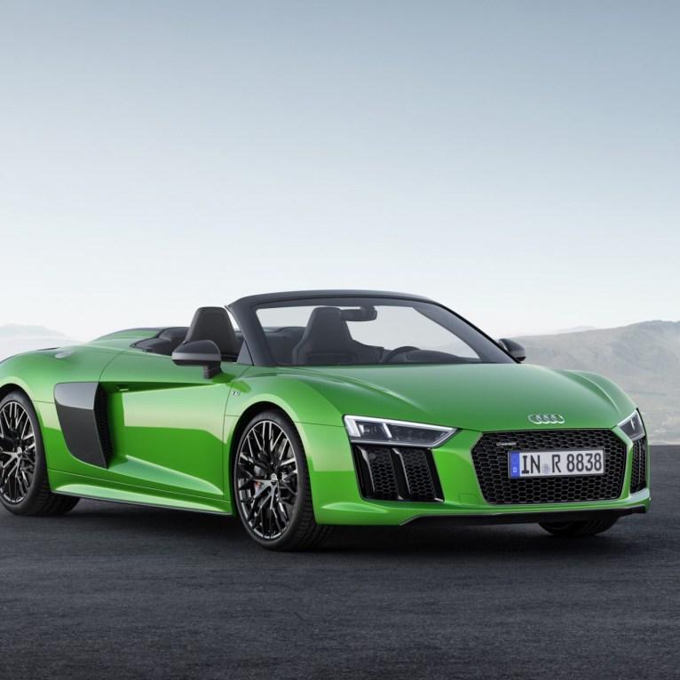 Audi-R8-Spyder V10 plus