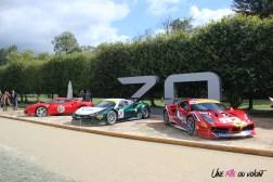 70 ans Ferrari Chantilly Arts & Elégance 2017
