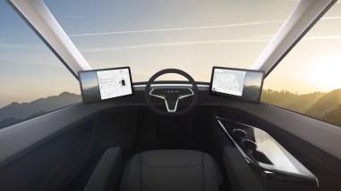Tesla Semi intérieur 2017