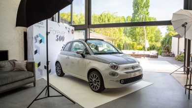 Photo of La Fiat 500 Collezione fait escale à Paris