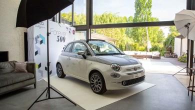 Photo of La Fiat 500 Collezionefait escale à Paris