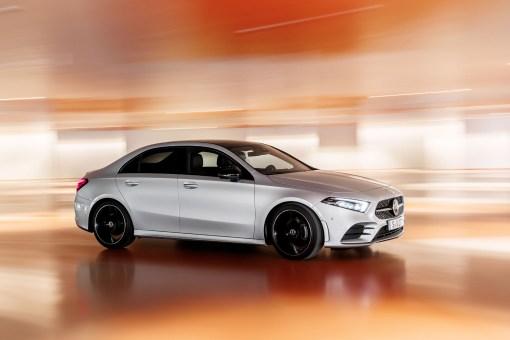 Mercedes Classe A berline 2018 dynamique avant