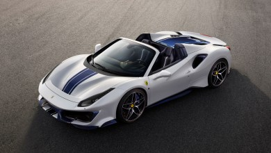 Photo of Pebble Beach 2018 : la Ferrari 488 Pista passe en mode Spider