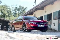 Peugeot 508 GT Line PureTech 180 EAT8 avant statique jantes 18 pouces rouge ultimate