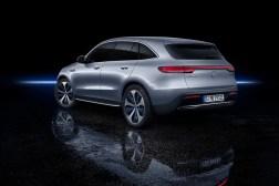 Mercedes EQC 2018 arrière