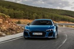 Audi R8 2018 dynamique feux V10