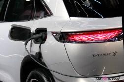 DS 7 Crossback E-Tense Mondial auto Paris 2018 recharge prise