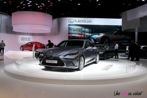 Lexus ES 300h Mondial auto Paris 2018