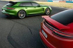 Porsche Panamera Sport Turismo GTS 2018 statique arrière feux