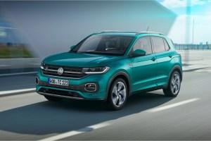 Volkswagen T-Cross 2018 avant dynamique calandre