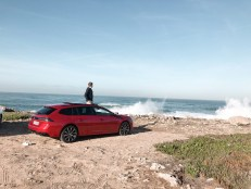 Essai Peugeot 508 SW 2018 portugal rouge