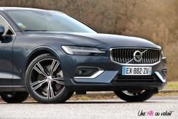 Volvo V60 avant calandre détail