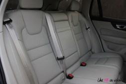 Volvo V60 banquette arrière intérieur