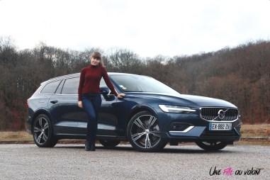 Volvo V60 Marie Lizak break jantes Inscription luxe