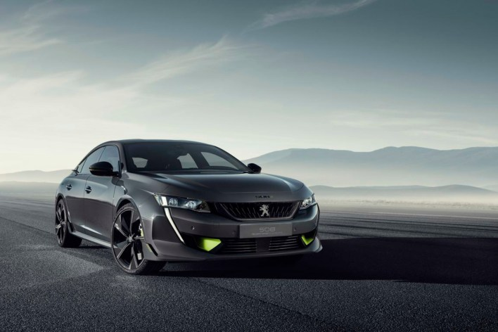 508 Peugeot Sport Engineered concept statique avant calandre jantes