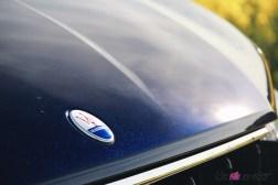 Maserati Levante 2019 capot logo bleu