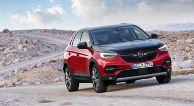 Opel Grandland X Hybrid4 jantes hybride nouveauté